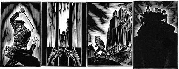 Lynd Ward, sequence from God's Man, 1929